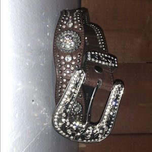 Accessories - Rhinestone cowgirl belt